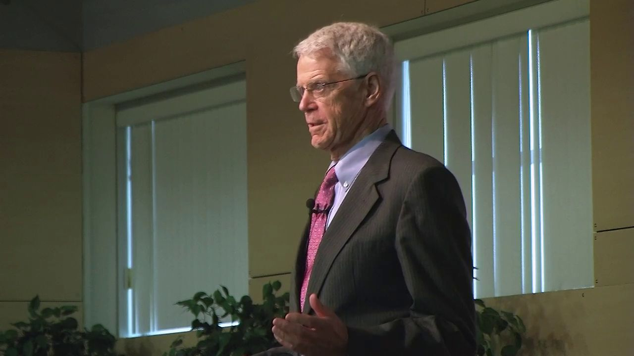 Dr Caldwell Esselstyn at the 2012 NW VEG-Adventist Health Conference
