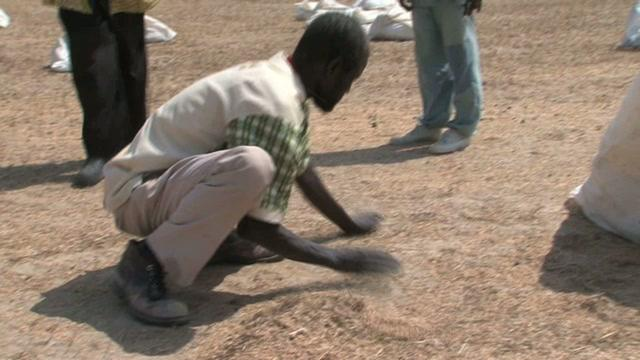 WFP Airdrop in Jonglei State, Southern Sudan