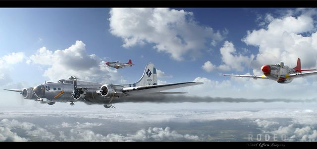 Red Tails - VFX Breakdowns