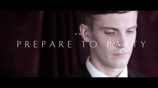 Reiss Men - Prepare to Party AW12