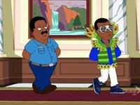 Kanye West et Nicki Minaj dans The Cleveland Show (Cartoon)