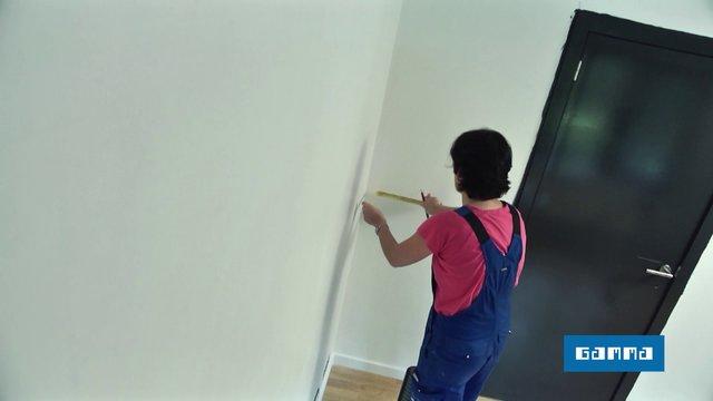 poser du papier peint on vimeo. Black Bedroom Furniture Sets. Home Design Ideas