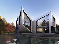 This Beautiful House Folds And Rotates To Match The Weather