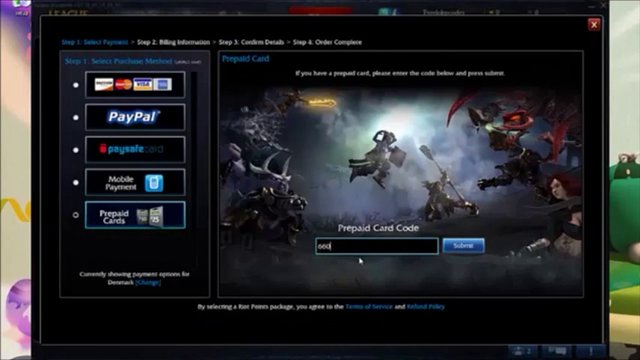Free lol promo codes 2012 irc