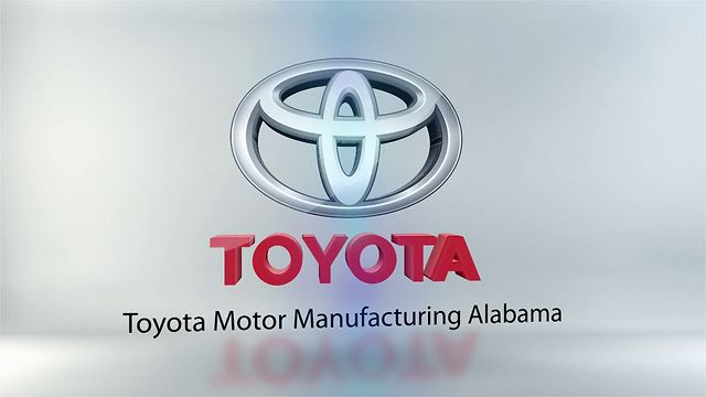 Opening Graphic for Toyota Motor Manufacturing Alabama