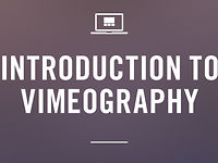 Intro to Vimeography