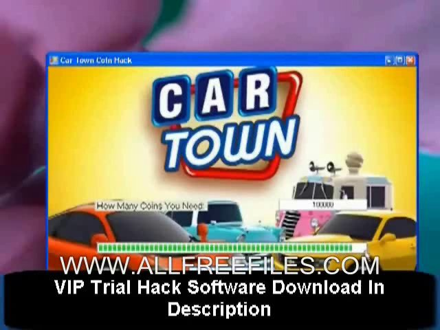 Car Town Cheat Tool Download For Facebook - [Unlock All Cars, Blue