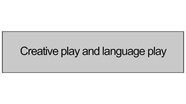 1.3 Creative Play And Language Play