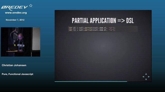 Pure, Functional Javascript