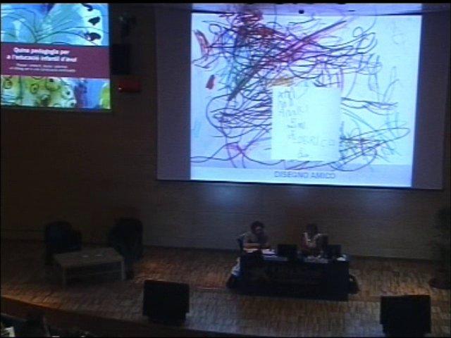 Conversa entre Antònia Ferrari, mestra de Reggio Emilia, i Montse Benlloch, professora de Psicologia d'UVic