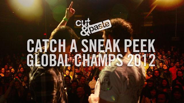 Cut&Paste Global Champs 2012 Sneak Peek - Friday, November 16, 2012