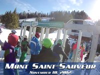 Mont Saint-Sauveur : November 10, 2012