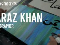 Eidfilms ::: Faraz Khan: Calligrapher