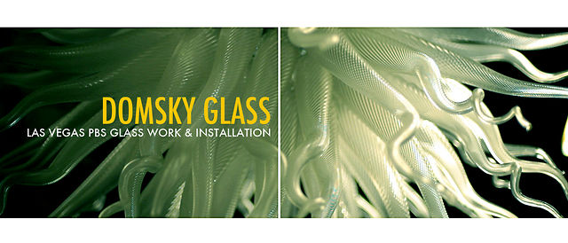 LAS VEGAS PBS Glass work and Installation - Domsky Glass