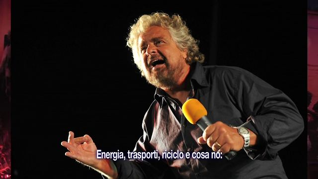Talking Beppe Grillo &amp; The Five Stars Movement - apropos Italian &amp; European protest against criminal Banka-Politos