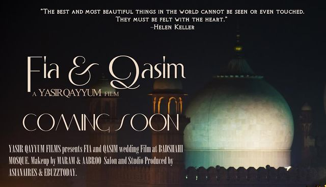 Fia & Qasim Wedding Movie Coming Soon