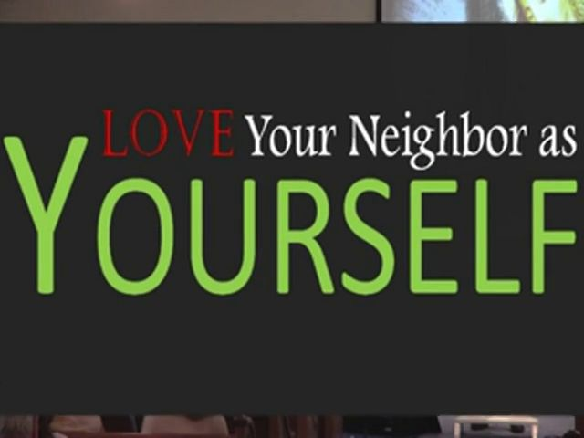 essay on how to love your neighbor as yourself Loving your neighbor as yourself (leviticus 19:17-18)  for a fuller discussion of what it means to love your neighbor as yourself in the workplace,.