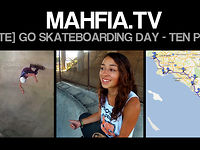 [MAHFIA TV] Lizzie Armanto - Go Skateboarding Day