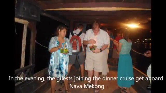 Loy Krathong Festival Celebration at Villa Maly and Nava Mekong