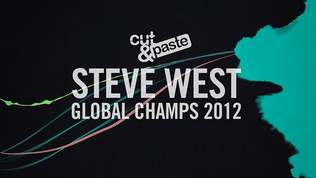 Steve West - C&P Global Champs 2012 Motion/Animation Competitor - London