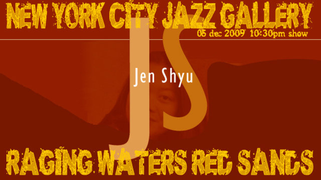 Jen Shyu - Raging Waters, Red Sands