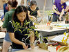 Architecture students experiment in ikebana