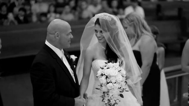 Kurt Angle with beautiful, Wife Giovanna Yannotti