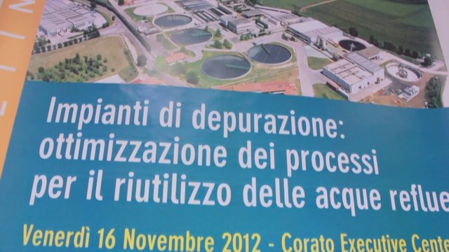 Corato: Depurazione delle acque reflue, fra tutela dell'ambiente e nuova economia