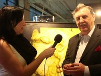 "BNN's ""Its all About Art"" Interviews artist Garry Harley at Italian Design Show"