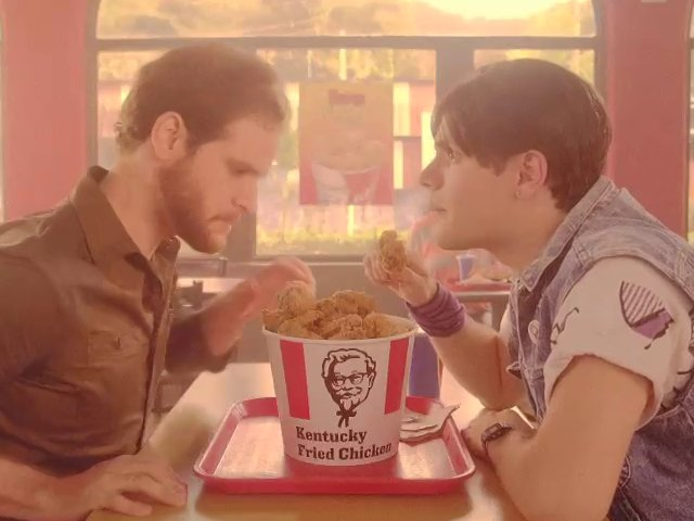 KFC-flashback