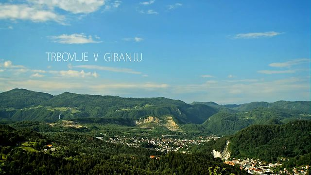 Trbovlje v gibanju - Trbovlje in motion (Trbovlje city time lapses)