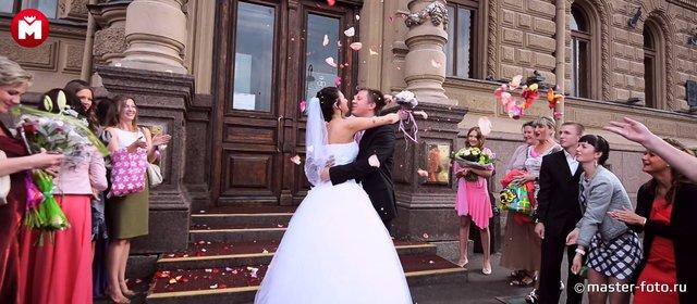 Летняя фотосъемка и видеосъемка свадьбы Евгения и Ксении