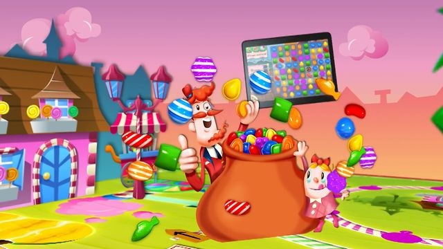 Candy Crush Saga mobile! (Fr)