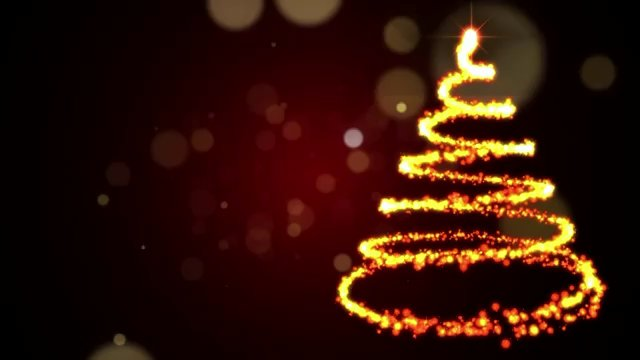 Christmas Tree Video Background (1)