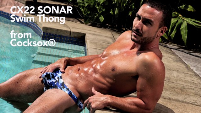 Cocksox SONAR Camo Swim Thong