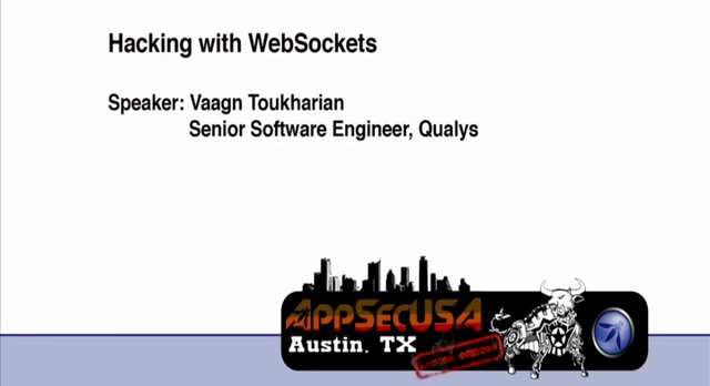 Hacking with Web Sockets - Vaagn Toukharian