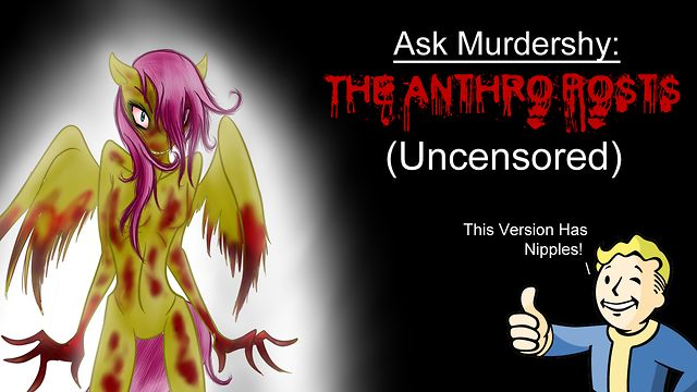 Ask Murdershy: The Anthro Posts (Uncensored): vimeo.com/54104405