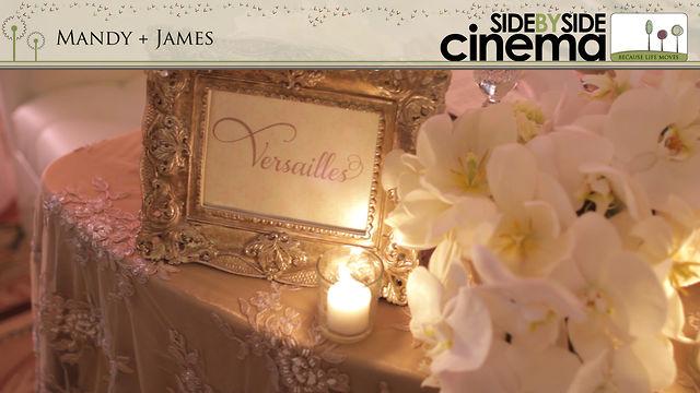 Mandy + James - San Diego Wedding Cinema