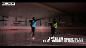 Le Patin Libre Performs at the Brixton Ice Rink