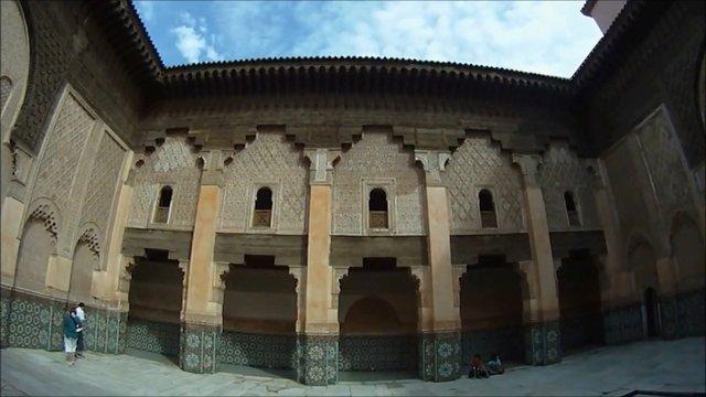 Medersa Ben Youssef  Marrakesch   مراكش - مدرسة بن يوسف  (Part 1) GoPro