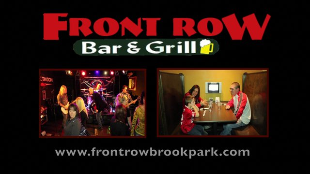 Front Row Bar & Grill, Tv Commercial Promo