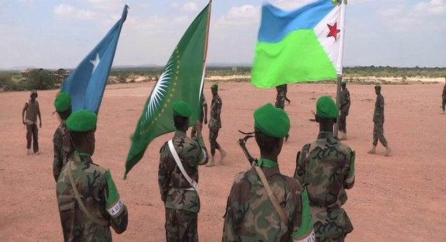 AMISOM FORCE COMMANDER: Visits Djiboutian Troops in Beletwyene