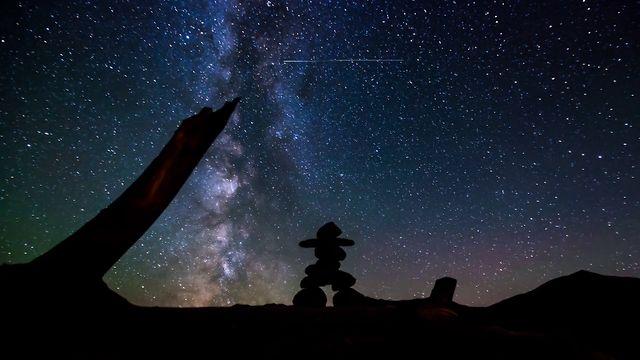 Inukshuks Under The Stars