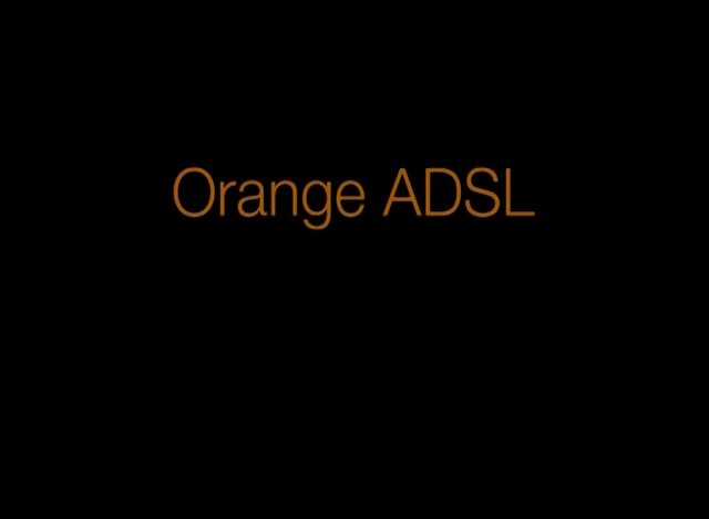 ORANGE ADSL FLOWER-