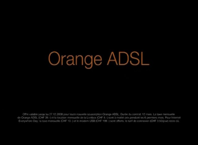 ORANGE ADSL GUITAR-