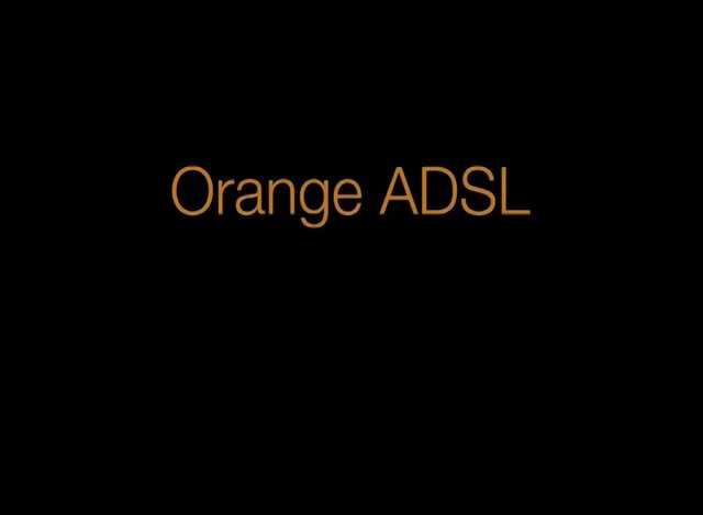 ORANGE ADSL LAMP-