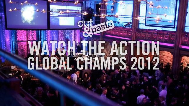 Cut&Paste Global Champs 2012