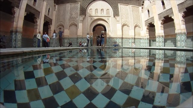 Medersa Ben Youssef Marrakesch مراكش - مدرسة بن يوسف (Part 2) GoPro