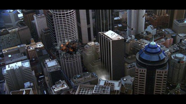 Skyscraper Explosion
