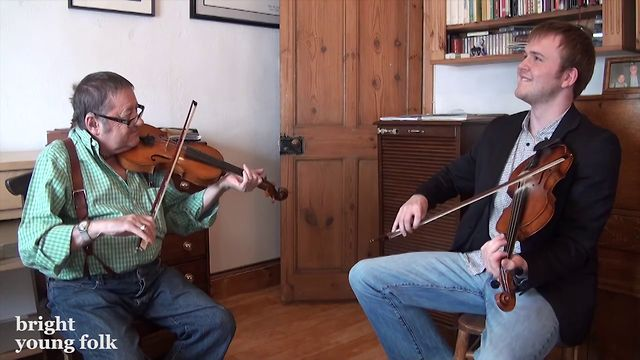 Dave Swarbrick & Sam Sweeney on the fiddle